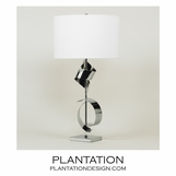 Rosina Table Lamp | Chrome