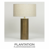Finnerty Brass Table Lamp