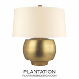 Collins Table Lamp | Antiqued Brass