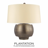 Collins Table Lamp | Distressed Bronze