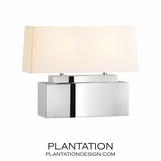Rainier Table Lamp | Rectangular