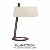 Martino Table Lamp | Black Brass