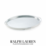 Wentworth Silver Oval Tray