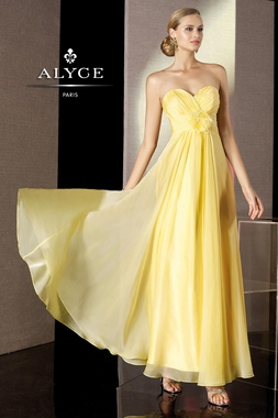 Timeless A-line Alyce Gown 35500