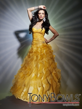 2012 Tony Bowls Gown 112506