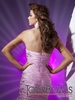 2012 Tony Bowls Pink Strapless Gown 112520