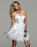 2012 Strapless Homecoming Dress 2014