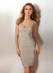2012 Clarisse Micro-Sequin Dress 17135
