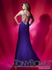 2012 Tony Bowls Purple Prom Dress 112707