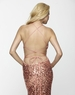 2013 Clarisse Sequin Copper Long Fitted Gown 2118