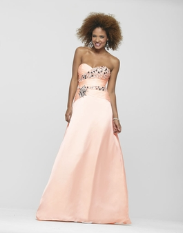 2013 Clarisse Strapless Peach Prom Dress 2123