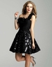 Classic Clarisse Short Black Baby Doll Dress 2058
