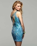 2012 Homecoming Clarisse Short Turquoise Sequin Gown 2026