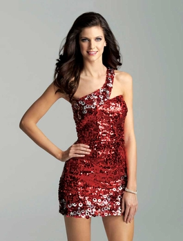 2012 Homecoming Radiant Red Gown 2019