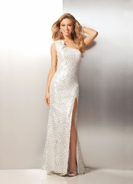 2012 Clarisse Long One-shoulder Prom Dress 17111