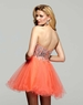 Orange 2012 Clarisse Homecoming Dress 2016