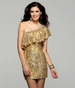 Clarisse Homecoming 2012 Short Sequin Gown 2031