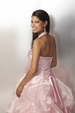 2012 Clarisse Pink Prom Gown 17140