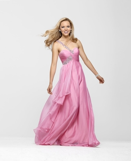 Clarisse Pink One Shoulder Prom Gown 2120