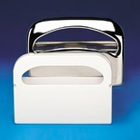 TOILET SEAT COVER DISPENSER 16X3.25X11.5 CHROME