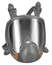 3M 6000 FULL FACEPIECE RESPIRATOR LARGE
