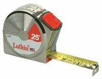 "LUFKIN 1"" X 25' SERIES 2000 POWER RETURN TAPES"