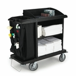 FULL SIZE HOUSEKEEPING CART 60X22X50