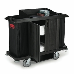 FULL SIZE HOUSEKEEPING CART W/DOOR 60X22X50