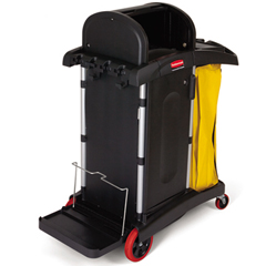 Healthcare Microfiber Cleaning Cart