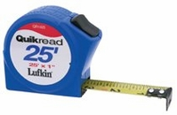 "LUFKIN 3/4""X 12' QUICKREAD POWER RETURN TAPE MEASURE"
