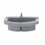 BRUTE MAID CADDY 16X9X5 HOLDS CLEANING SUPPLY GRAY