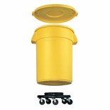 DOLLY 32/44 GAL CONTAINERS 250LB LOAD MAX BLACK