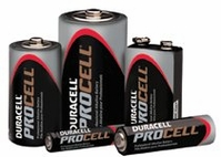 PROCELL INDUDTRIAL BATTERIES 9V-CELL ALKALINE BOX OF 12