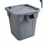 BRUTE LID FOR 40 GAL SQUARE CONTATNERS GRAY