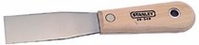 """STANLEY 1-1/4"""" PUTTY KNIFE WOOD HANDLE"""