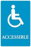 """Accessible"" ADA Sign"