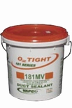 VAPCO'S O2 TIGHT181 PREMIUM AIR DUCT SEALANT 5 GALLON PAIL GREY