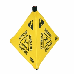 SAFETY CONE 30 IN POP-UP YELLOW
