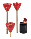 JUSTRITE SAFETY DRUM FUNNEL W/ BRASS FLAME ARRESTOR