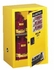 YELLOW SAFETY CABINETS FOR FLAMMABLES