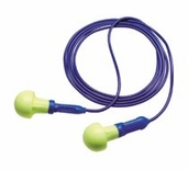PUSH INS CORDED EAR PLUGS
