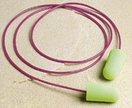 PURA-FIT DISPOSABLE EARPLUGS CORDED