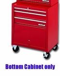 CABINET TOOL ROLLER 3 DRAWER 26.5IN. SHOP SERIES