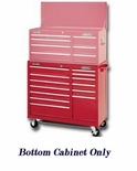 "R.CABINET 40"" 13 DRAWER BB-RED PRO MAXX SERIES"