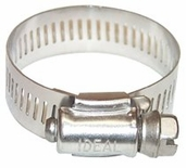 """64 COMBO HEX 1/2 TO 1-1/8"""" HOSE CLAMP"""