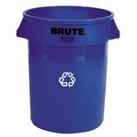 BRUTE RECYCLING CONTAINERS 44 GAL BLUE
