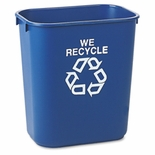WE RECYCLE CONTAINER BLUE