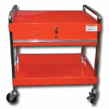 CART SVC DELUXE W/LOCK TOP & DRAWER