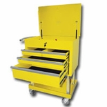 QUIK2GETHER SER CART 4 DRAWER YELLOW 3RD VERSION
