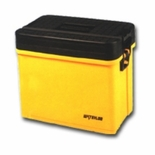 """20-3/4"""" Sit-Stand-Tote Tool Box, Yellow"""